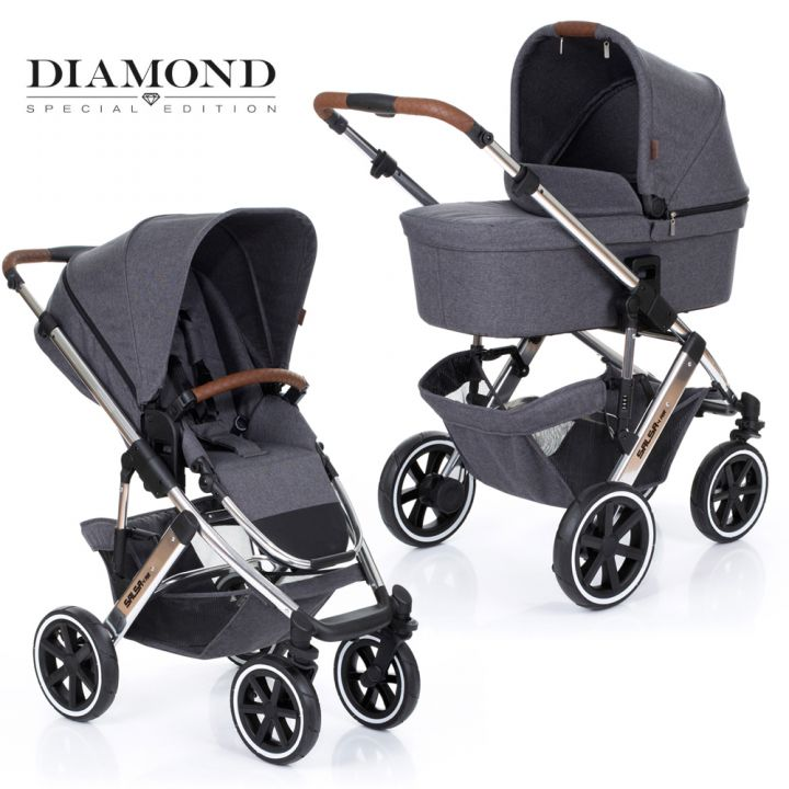 Детская модульная коляска Salsa 4  AIR Diamond Special Edition  (2 в 1)