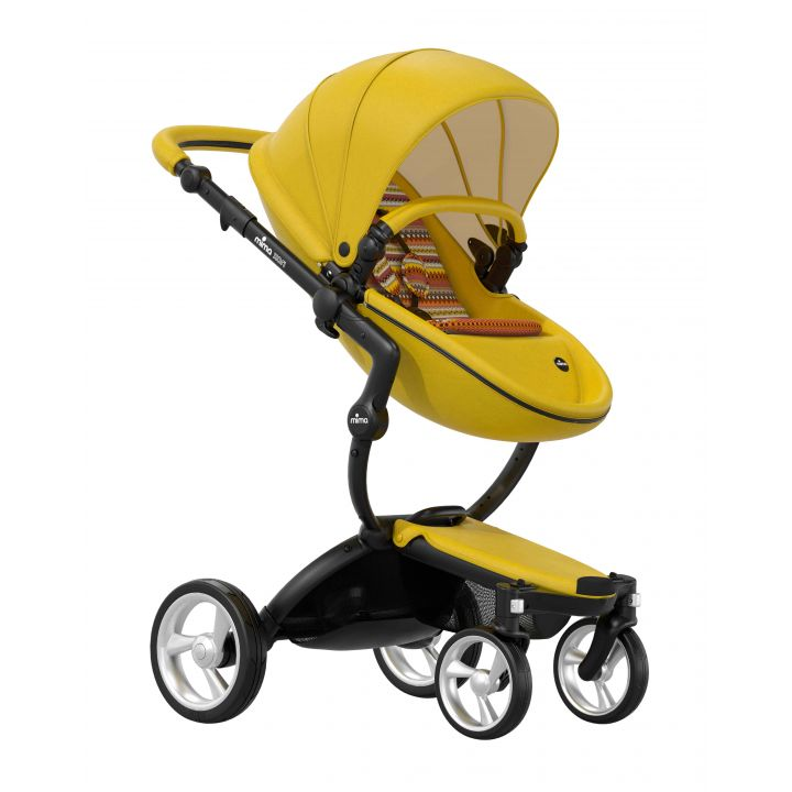 Детская коляска 2 в 1 Mima Xari Yellow Limited edition