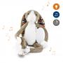Мягкая музыкальная игрушка ZAZU Бо